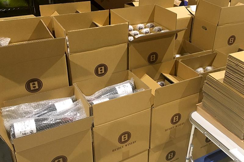 ワイン発送箱