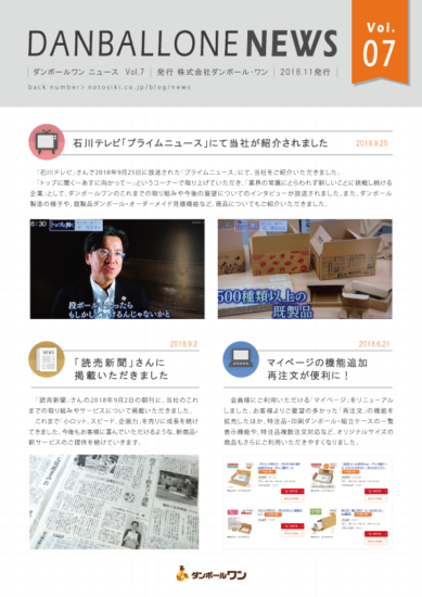 DANBALLONE News vol.7